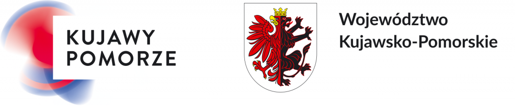logo Kujawy Pomorze i herb województwo Kujawsko-Pomorskie