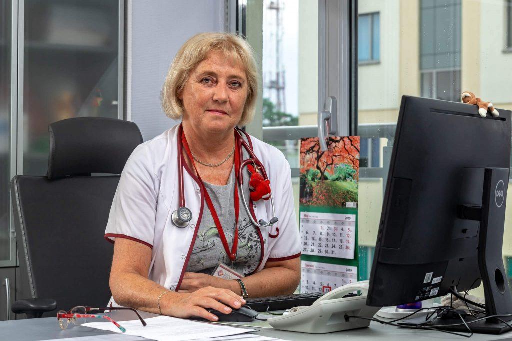 Ordynator na oddziale kardiologii