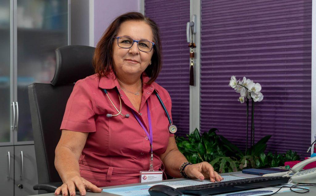 Kierownik na oddziale pneumonologii
