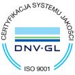 Certyfikat Systemu Jakości ISO 9001
