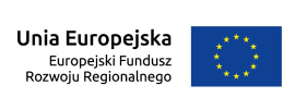 logo Unia Europejska Europejski Fundusz Rozwoju Regionalnego